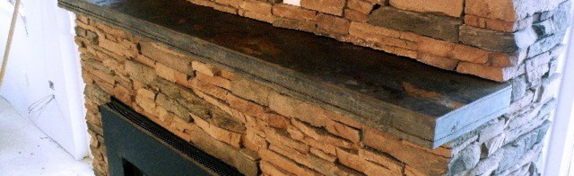 Slate Rock Fireplace Mantels Slate Fireplace Mantel 002 BlueSlate WoodStone