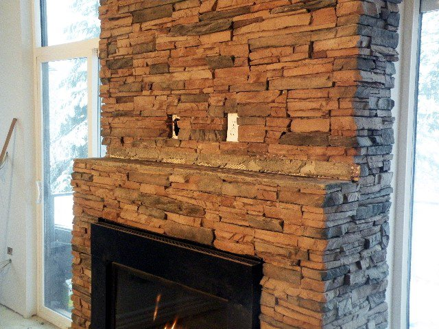 rock fireplace mantel. Eagle Mountain Slate Rock Fireplace Mantel Mantels  002