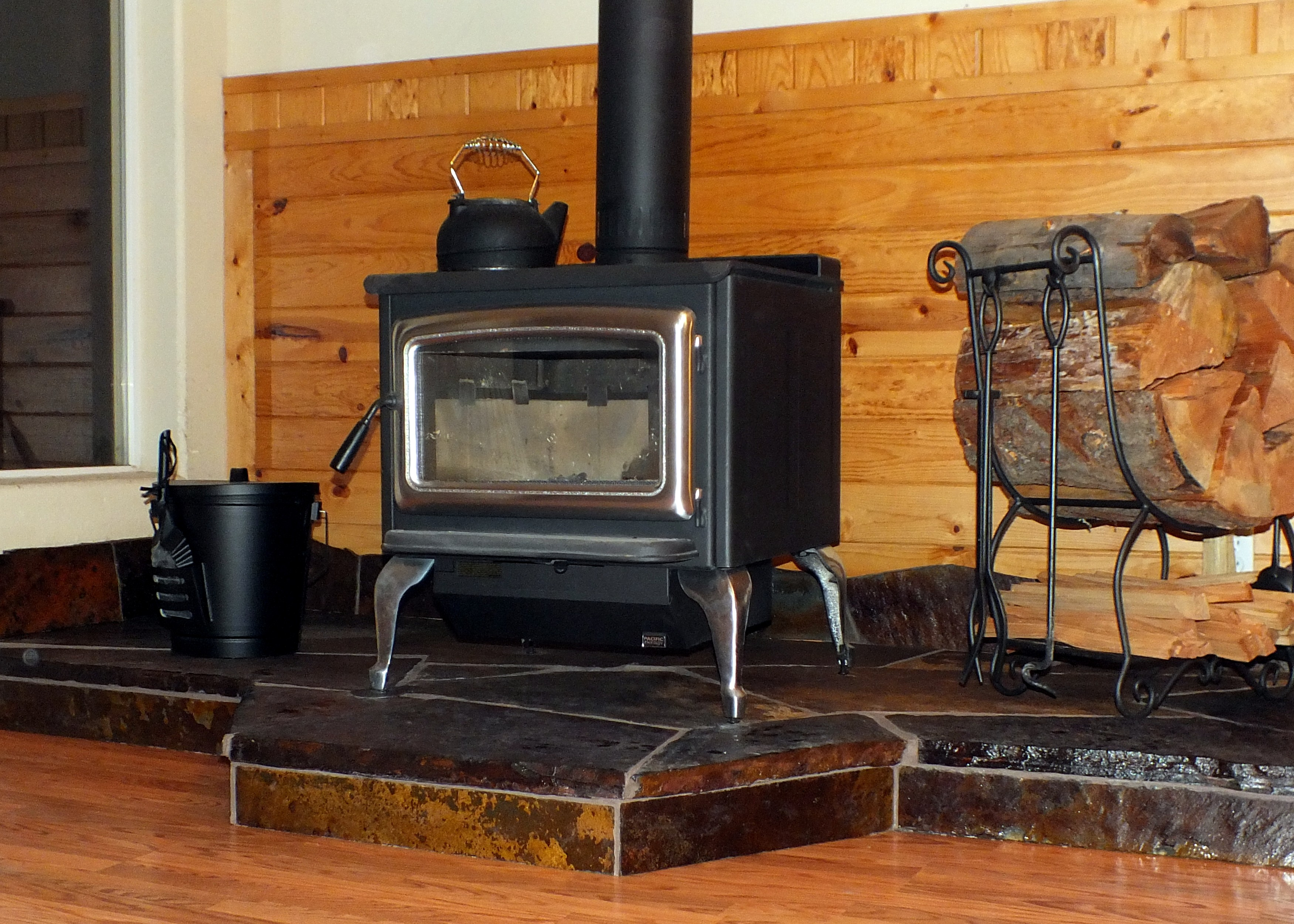 custom slate stove hearths blueslate woodstone